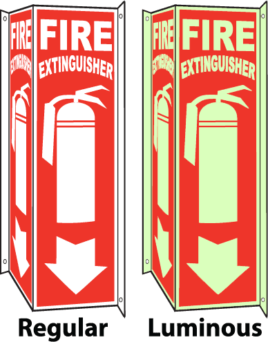 Fire Extinguisher Regular / Luminous