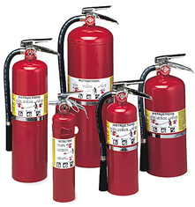Extinguisher For Fire Class ABC
