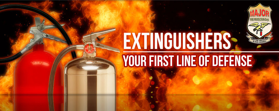 Fire Extinguishers - Your first line of defense
